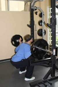 Weighted Squat 2