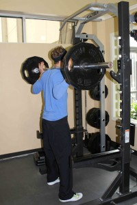 Weighted Squat 1